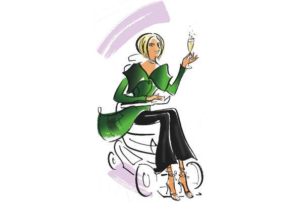 Elle, Stiletto Wheels: Yay, PIP success