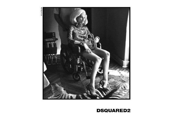 D-Squared Ad with wheelchair