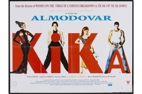 Pedro Almodovar: Kika (UK poster)