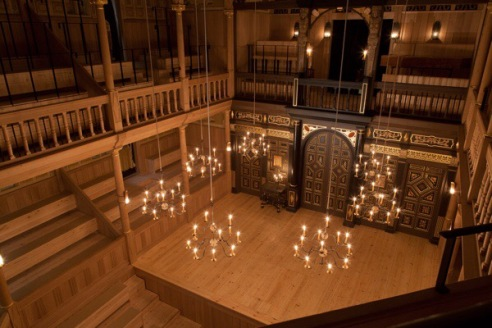 The Sam Wanamaker Playhouse - interior
