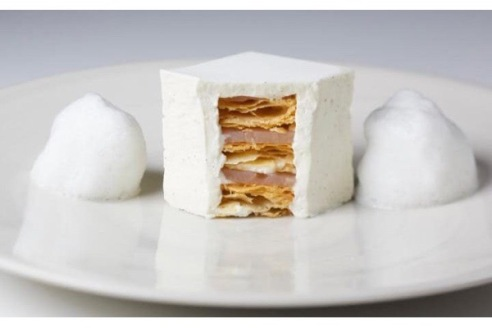 The White Millfeuille at La Dame De Pic, Four Seasons, Trinity Square, London