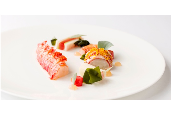 Restaurant Coworth Park: Buttered Poached Lobster,
