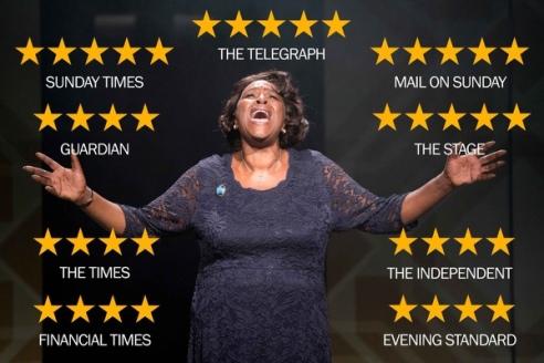 Sharon D Clarke in Caroline, Or Change, Hampstead Theatre, to April 21 2018