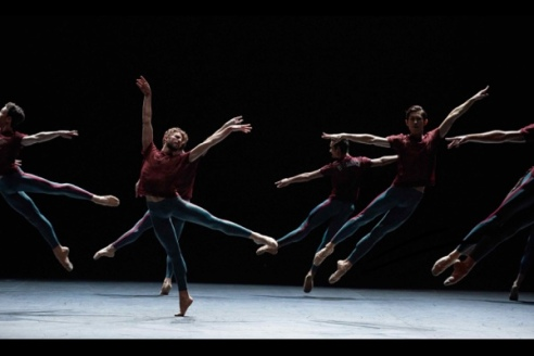 Giorgio Garrett and English National Ballet in Playlist (Track 1, 2) by William Forsythe © Laurent Liotardo
