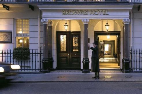 Brown's Hotel Entrance, Albemarle Street