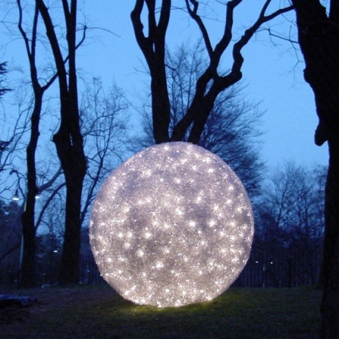 Garden Lights: Catellani & Smith Fil De Fer, Exterior.