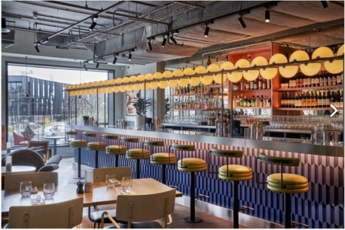 Bluebird Cafe, White City, London.