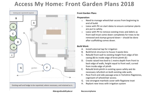 Access My Home: Front Garden Plan
