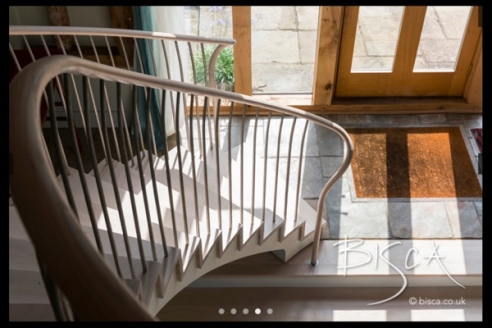 Bisca Curved Stair Design