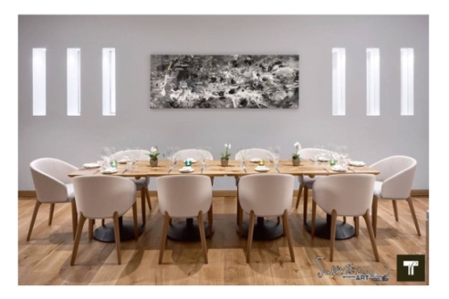 Private Dining Room, Theo Randall at the Intercontinental: Artwork by Swarez