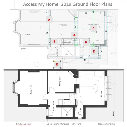 Access My Home: Ground Floor Layout